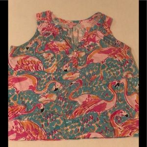 Adorable Lilly Pulitzer Tank Large Grt Condition
